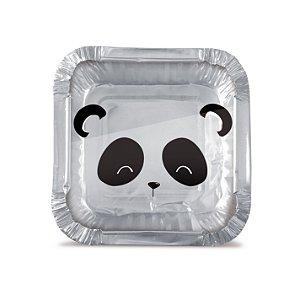 Mini Marmitinha Festa Panda P - 12 unidades - Cromus - Rizzo Festas