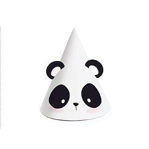 Mini Chapéu Festa Panda - 8 unidades - Cromus - Rizzo Festas