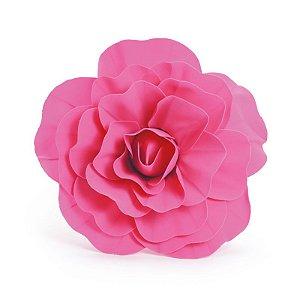 Flor Decorativa Pink 30cm - 01 unidade - Cromus - Rizzo Festas