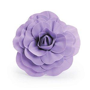 Flor Decorativa Lilás 30cm - 01 unidade - Cromus - Rizzo Festas