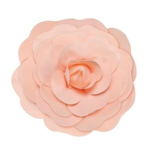 Flor Decorativa Pêssego 40cm - 01 unidade - Cromus - Rizzo Festas