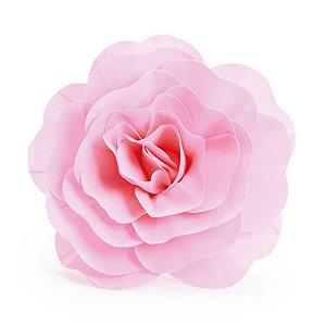 Flor Decorativa Rosa 40cm - 01 unidade - Cromus - Rizzo Festas
