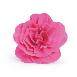Flor Decorativa Pink 40cm - 01 unidade - Cromus - Rizzo Festas