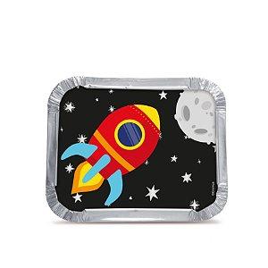 Marmitinha Festa Astronauta M - 12 unidades - Cromus - Rizzo Festas