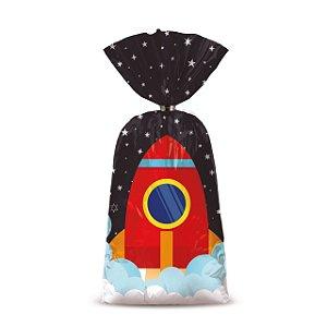 Sacolinha p Lembrancinha Festa Astronauta - 8 unidades - Cromus - Rizzo Festas