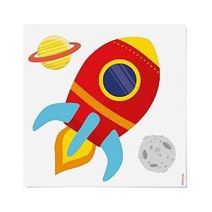 Transfer para Camiseta Festa Astronauta - Cromus - Rizzo Festas