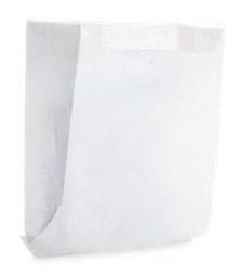 Saquinho de Papel  10,5x10cm - Branco - 50 unidades - Cromus - Rizzo Festas