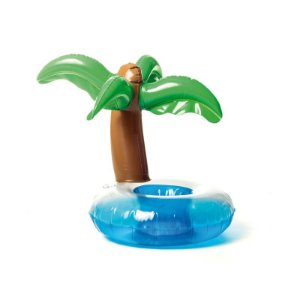 Mini Bóia para Copo - Coqueiro - 01 unidade - Cromus - Rizzo Festas