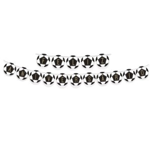 Faixa Feliz Aniversario Festa Futebol - Cromus - Rizzo Festas
