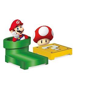 Kit Suporte para Doces Festa Mario - 2 unidades - Cromus - Rizzo Festas