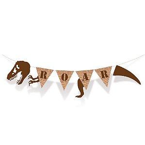 Faixa Decorativa Festa Dinossauro - Cromus - Rizzo Festas