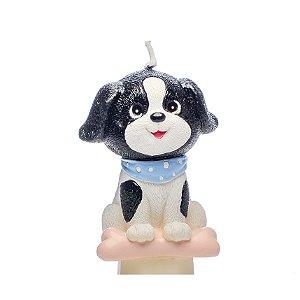 Vela 3D Festa Cachorrinhos - Cromus - Rizzo Festas