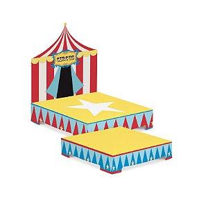 Kit Suporte para Doces Festa Circo - 2 unidades - Cromus - Rizzo Festas