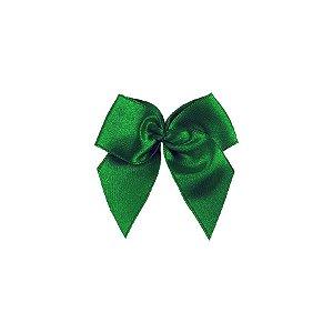 Laço Cetim Gordinho - Verde - 50 unidades - Rizzo Embalagens