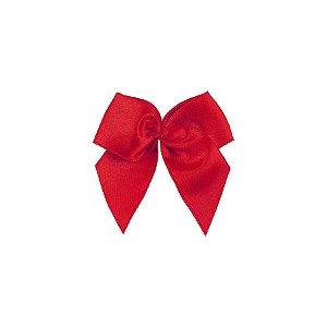Laço Cetim Gordinho - Vermelho - 50 unidades - Rizzo Embalagens