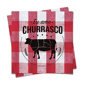 Guardanapo Festa Churrasco - 20 unidades - Cromus - Rizzo Festas