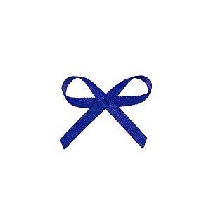 Laço Cetim Mosquitinho - Azul Royal - 100 unidades - Rizzo Embalagens