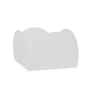 Forminhas para Doces 4 Pétalas Branca 50 unidades NC Toys Rizzo Embalagens