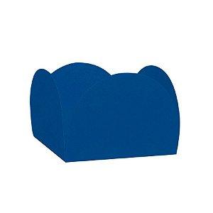 Forminhas para Doces 4 Pétalas Azul 50 unidades NC Toys