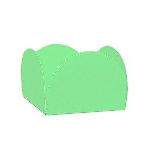 Forminhas para Doces 4 Pétalas Verde Folha 50 unidades NC Toys Rizzo Embalagens