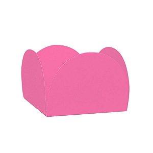 Forminhas para Doces 4 Pétalas Rosa Escuro 50 unidades NC Toys Rizzo Embalagens