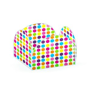 Forminhas para Doces 4 Pétalas Bolinhas Coloridas 50 unidades NC Toys Rizzo Embalagens