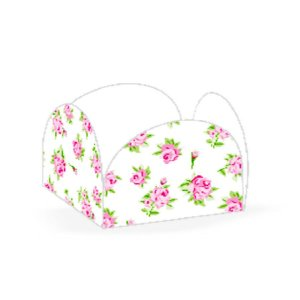 Forminhas para Doces 4 Pétalas Floral Branca 50 unidades NC Toys Rizzo Embalagens
