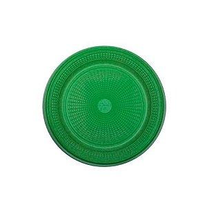 Prato Bolo Descartável 15cm Verde Escuro 10 unidades Trik Trik
