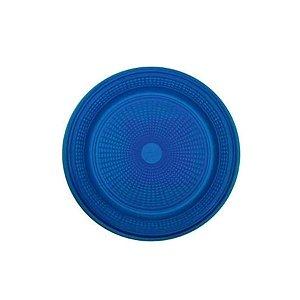 Prato Bolo Descartável 15cm Azul Escuro 10 unidades Trik Trik Rizzo Embalagens