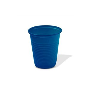 Copo Festa Descartável 200ml Azul Escuro 50 unidades Trik Trik Rizzo Embalagens