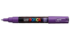 Caneta Posca PC-1M 0,7mm Violet_Violeta - 01 unidade - Uni Posca - Rizzo Embalagens