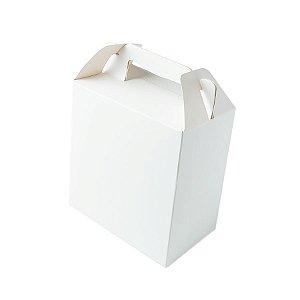 Caixa Sacolinha S2 (14cm x 11cm x 6cm) Branca 10 unidades Assk Rizzo Embalagens