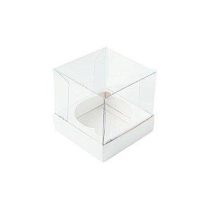 Caixa Mini Bolo P (5cm x 5cm x 5cm) Branca 10 unidades Assk Rizzo Embalagens