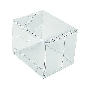 Caixa Transparente K7 (7cm x 7cm x 9cm) 20 unidades Assk Rizzo Embalagens