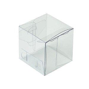 Caixa Cubo Transparente K9 (4cm x 4cm x 4cm) 20 unidades Assk Rizzo Embalagens