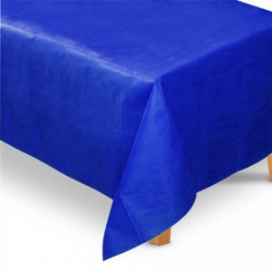 Toalha de Mesa Retangular em TNT (1,40m x 2,20m) Azul Royal - Best Fest - Rizzo Embalagens