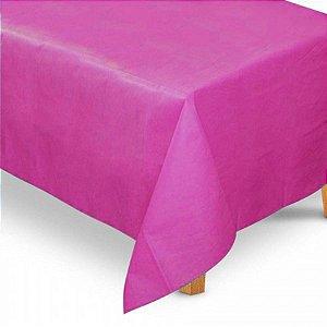 Toalha de Mesa Retangular em TNT (1,40m x 2,20m) Rosa Pink - Best Fest - Rizzo Embalagens