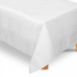 Toalha de Mesa Retangular em TNT (1,40m x 2,20m) Branca - Best Fest - Rizzo Embalagens