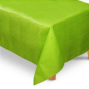Toalha de Mesa Retangular em TNT (1,40m x 2,20m) Verde Limão - Best Fest - Rizzo Embalagens