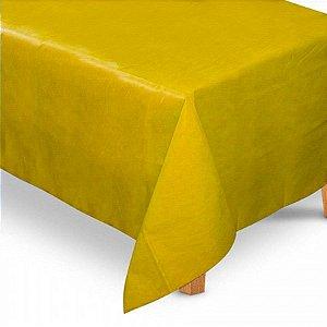 Toalha de Mesa Retangular em TNT (1,40m x 2,20m) Amarela - Best Fest - Rizzo Embalagens