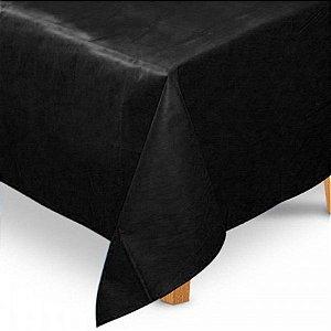 Toalha de Mesa Quadrada em TNT (80cm x 80cm) Preta 5 unidades - Best Fest - Rizzoembalagens