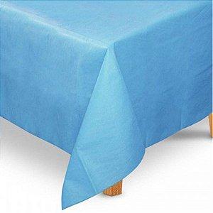 Toalha de Mesa Quadrada em TNT (80cm x 80cm) Azul Claro 5 unidades - Best Fest - Rizzoembalagens