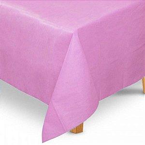 Toalha de Mesa Quadrada em TNT (80cm x 80cm) Rosa Claro 5 unidades - Best Fest - Rizzoembalagens
