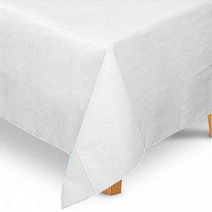 Toalha de Mesa Quadrada em TNT (80cm x 80cm) Branca 5 unidades - Best Fest - Rizzoembalagens