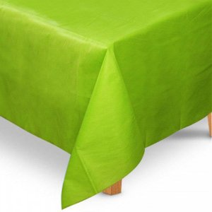 Toalha de Mesa Quadrada em TNT (80cm x 80cm) Verde Limão 5 unidades - Best Fest - Rizzoembalagens