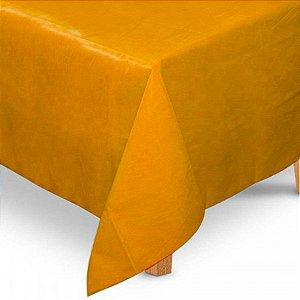 Toalha de Mesa Quadrada em TNT (80cm x 80cm) Laranja 5 unidades - Best Fest - Rizzoembalagens