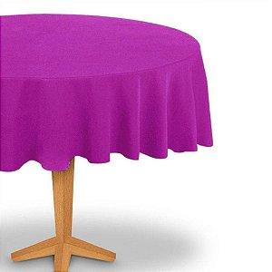 Toalha de Mesa Redonda em TNT (Diâmetro 130cm) Rosa Pink - Best Fest - Rizzoembalagens