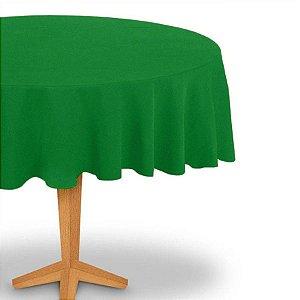 Toalha de Mesa Redonda em TNT (Diâmetro 130cm) Verde Bandeira - Best Fest - Rizzoembalagens