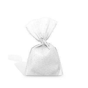 Saquinho para Lembrancinha em TNT (13cm x 25cm) Branca 10 unidades - Best Fest - Rizzoembalagens