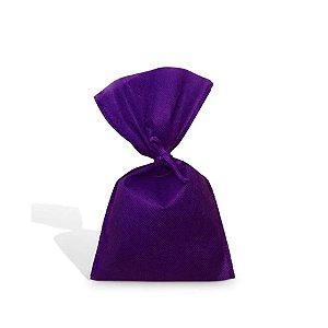 Saquinho para Lembrancinha em TNT (13cm x 25cm) Roxa 10 unidades - Best Fest - Rizzoembalagens